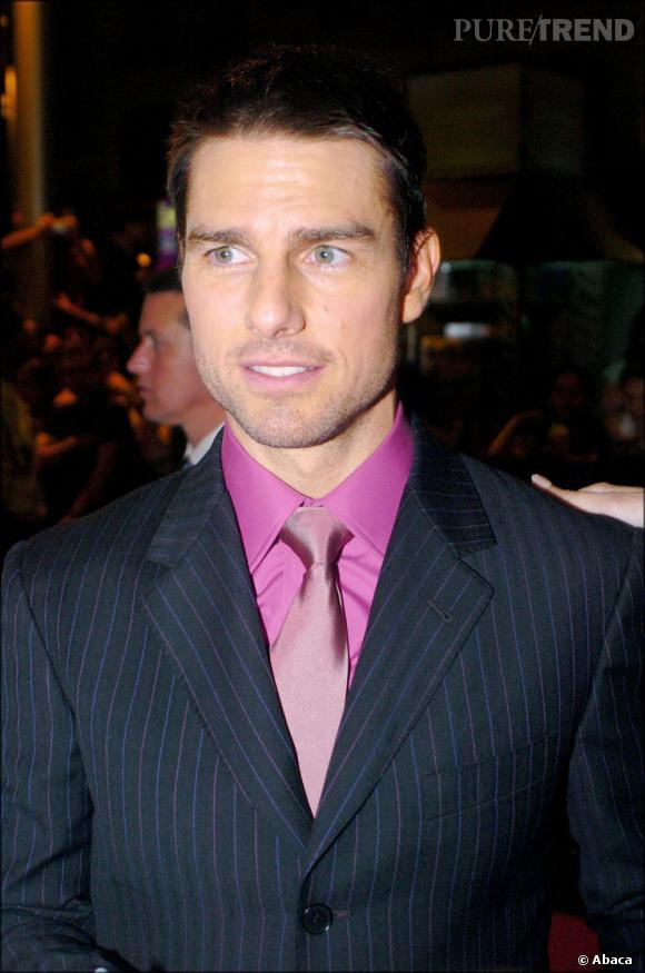 """Le flop """"chemise rose"""" :  brillante et coordonnée à la cravate, c'est le flop assuré."""
