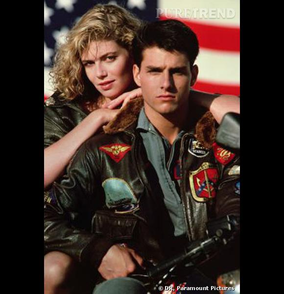 "Le top ""look de film"" :  dans ""Top Gun"", un look devenu culte."