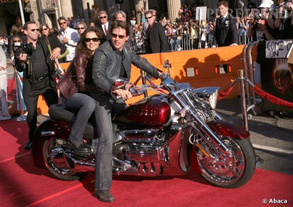 """Le top """"cuir"""" :  avec Katie, les deux adoptent le style biker, bien joué !"""
