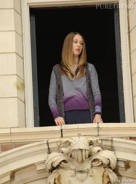 Dans le rôle de Violet Harmon, la belle joue l'ado suicidaire et dépressive, loin, très loin de s'intéresser à la mode.