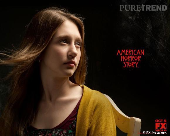 """Taissa Farmiga pour la promotion de la première saison de """"American Horror Story""""."""
