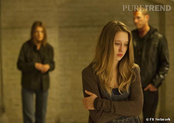 """Taissa Farmiga dans """"American Horror Story"""": ado torturée, aimant à problèmes, qui considère la vie de famille comme un véritable supplice."""