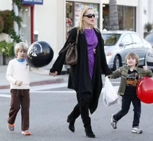 Sharon Stone, maman chic et choc