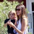 Alessandra et sa fille Anja.