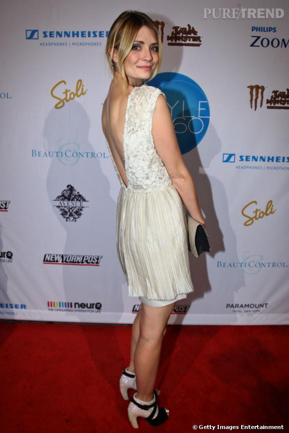 Mischa Barton prouve qu'elle n'a rien perdu de son sens du style.