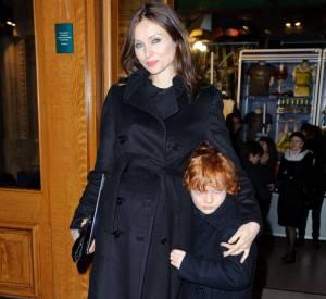 Sophie Ellis Bextor au Cirque du Soleil à Londres, avec son fils.