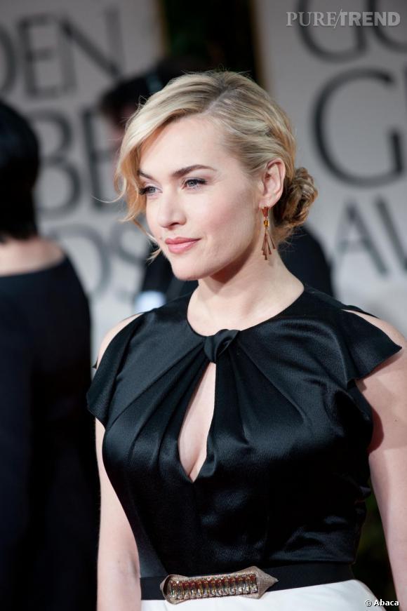 Kate Winslet aux Golden Globes 2012.