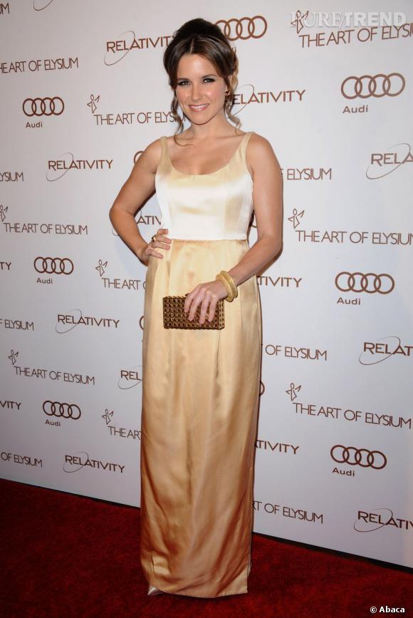 Sophia Bush au gala anniversaire de la fondation Art Of Elysium à Los Angeles.