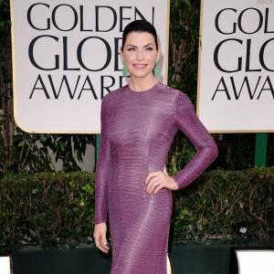 Dernièrement aux Golden Globes 2012, Julianna Margulies a misé sur une robe Naeem Khan pour flatter ses courbes.