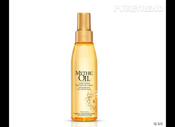 Les huiles capillaires :     Mythic Oil, L'Oréal Professionel. 23,20 €.