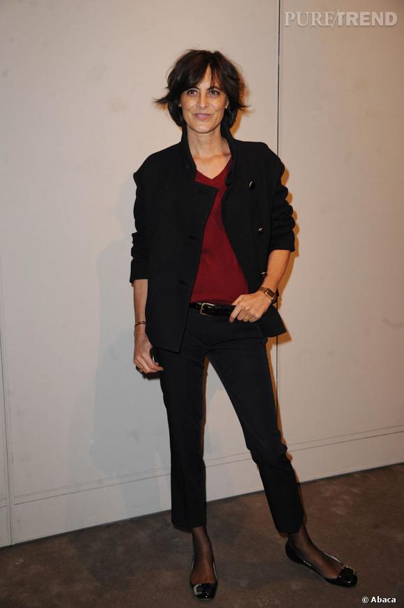 Icône Chanel et parisienne par excellence, Inès de la Fressange a fait le déplacement.