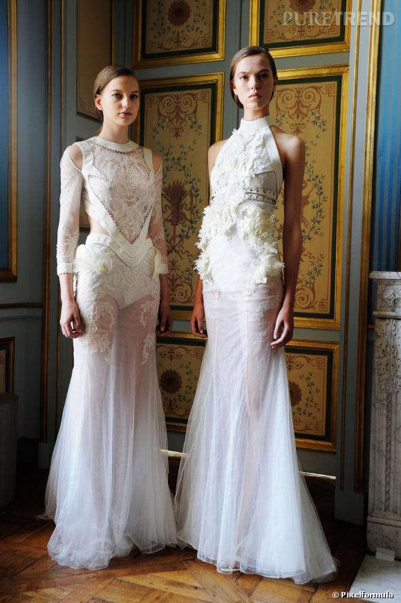 Présentation Givenchy Haute Couture, Automne-Hiver 2011/2012.