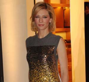 Cate Blanchett, pluie de paillettes