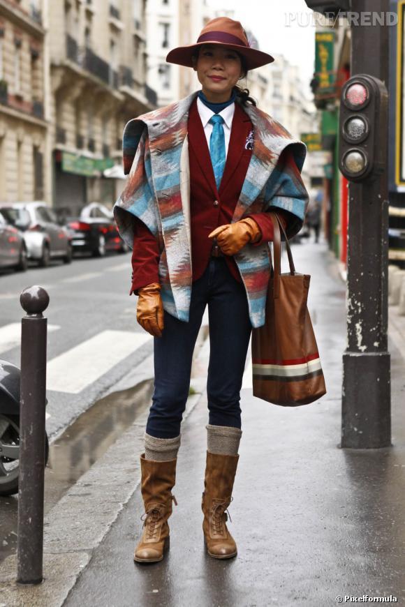 Le célèbre imprimé Pendleton, inspiré des vêtements des améridiens, opère un come back discret mais certain : on n'a pas trouvé mieux pour booster une veste en laine.