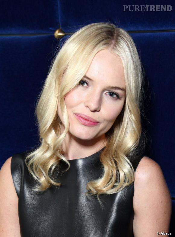 Vraie !  Kate Bosworth a gardé le blond bébé de son enfance.