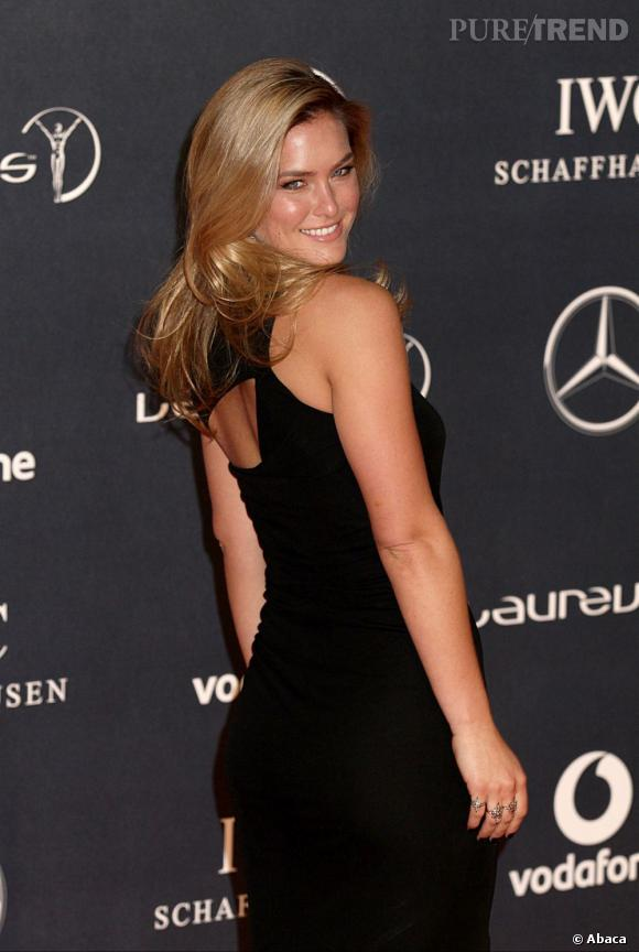 Bar Refaeli à la soirée Laureus World Sport Awards 2012 à Londres.