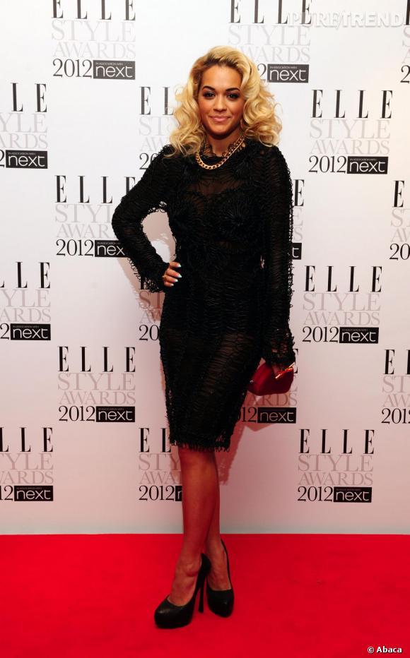 La chanteuse et actrice anglaise Rita Ora.