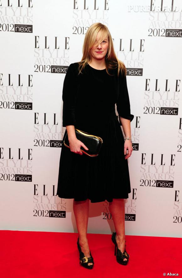Sarah Burton, la directrice artistique d'Alexander McQueen.