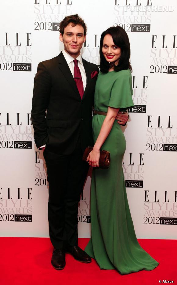 L'acteur anglais Sam Claflin et l'actrice Laura Haddock.