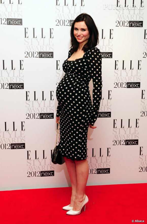 Sophie Ellis Bextor enceinte et rétro.