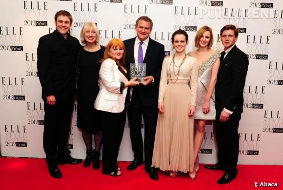 """Le casting de la série """"Downton Abbey"""" récompensé lors de la soirée."""