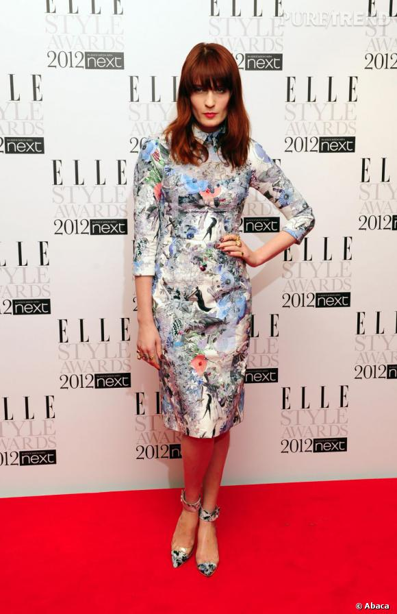 Florence Welch lors des ELLE Style Awards 2012.