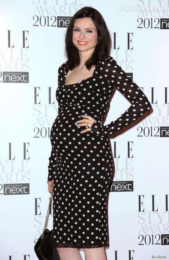 Sophie Ellis Bextor aux Elle Style Awards 2012 à Londres.
