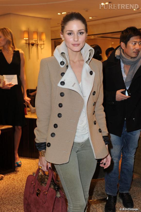 Olivia Palermo chez Alexandre Birman à New York.