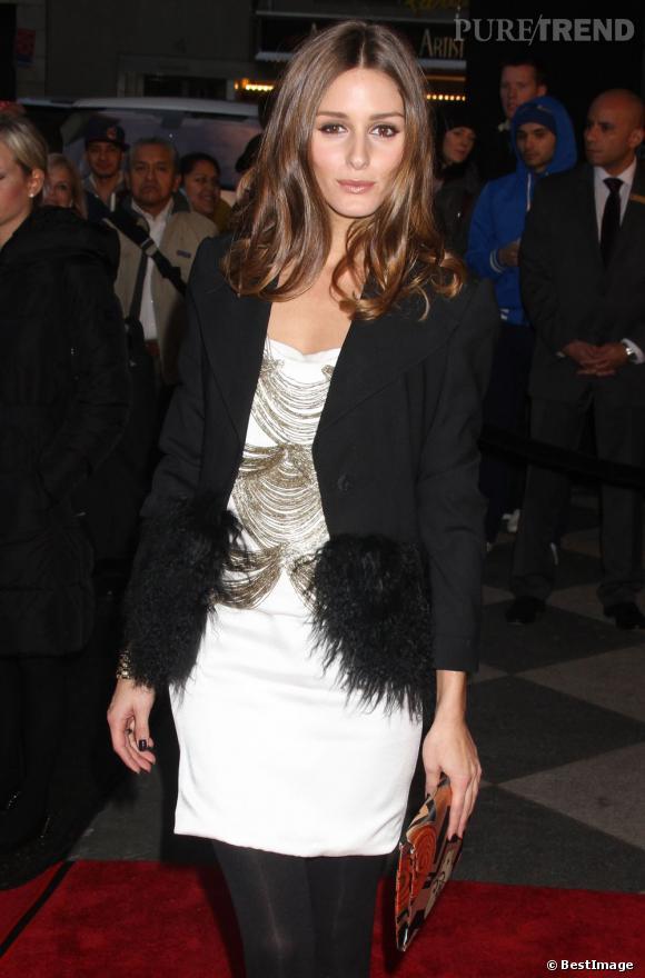 Olivia Palermo au défilé Automne-Hiver 2012/2013 à New York.