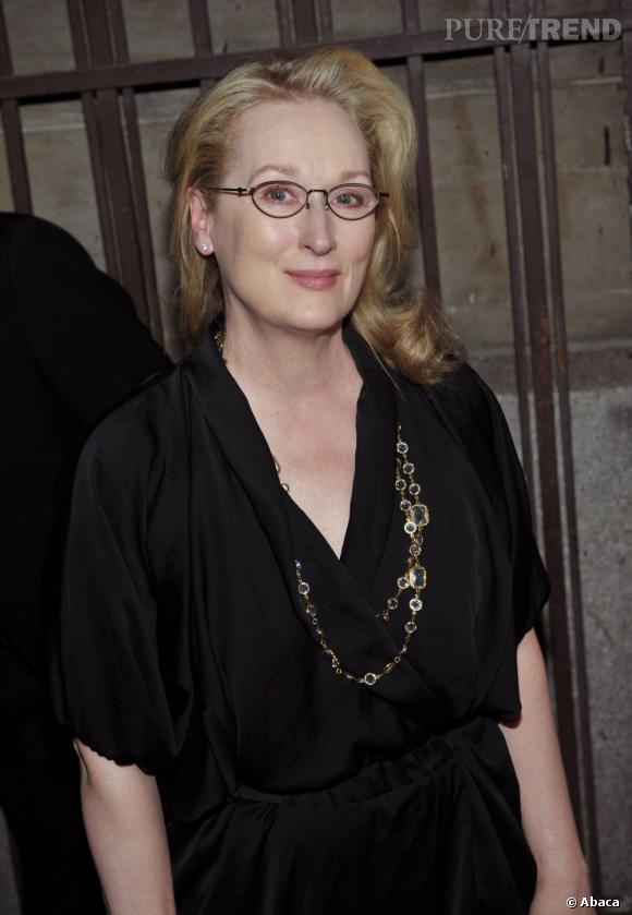 La pire paire de lunettes de vue : trop passe-partout... Tu es une star Meryl Streep, assume le !