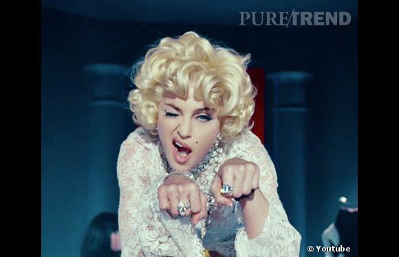 """Le nouveau clip de Madonna avec Nicki Minaj et M.I.A. : """"Give Me All Your Luvin""""."""