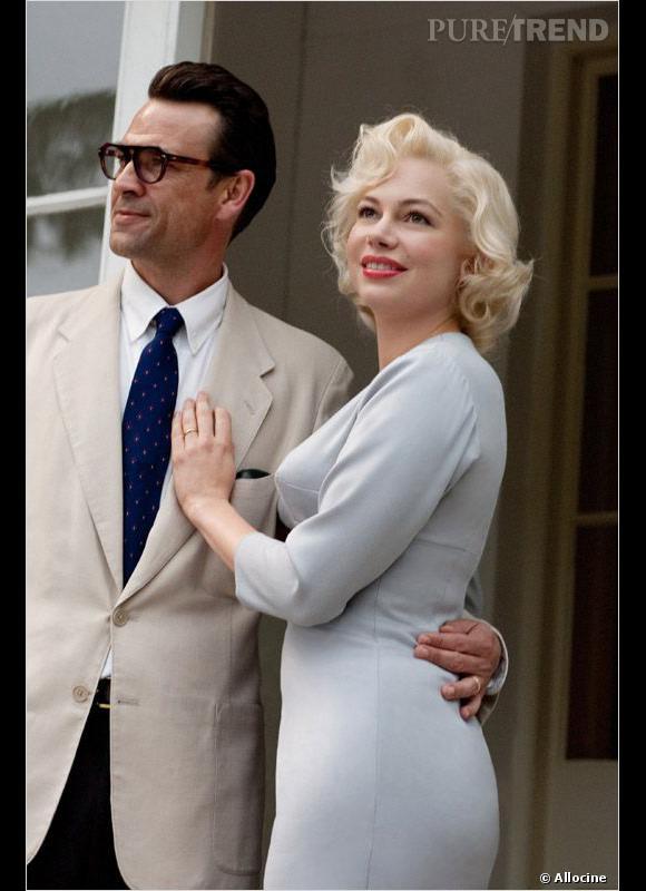 """Michelle Williams notre coup de coeur dans la catégorie """"Meilleure actrice"""" dans """"My Week With Marilyn""""."""