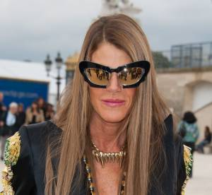Anna Dello Russo vs Lady Gaga : les lunettes mouche Prabal Gurung