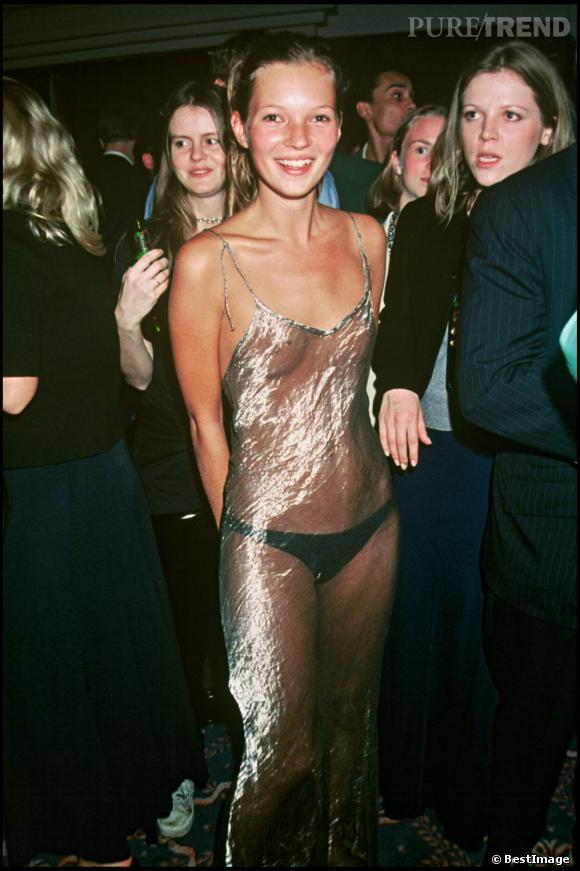 En 1993, lors de l'élection du look de l'année Kate Moss se fait remarquer.