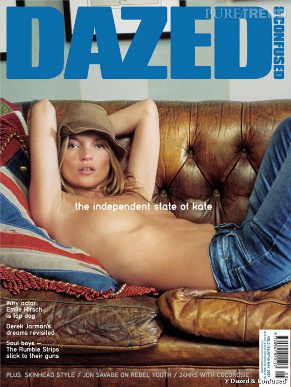 Pas vraiment pudique, le top collectionne les covers topless.