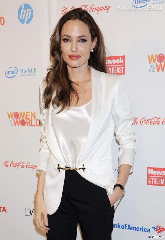 "Angelina Jolie au 3ème ""Annual Women in the World"" à New York."