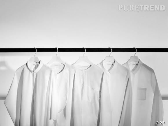 COS réédite cinq chemises pour ses 5 ans.