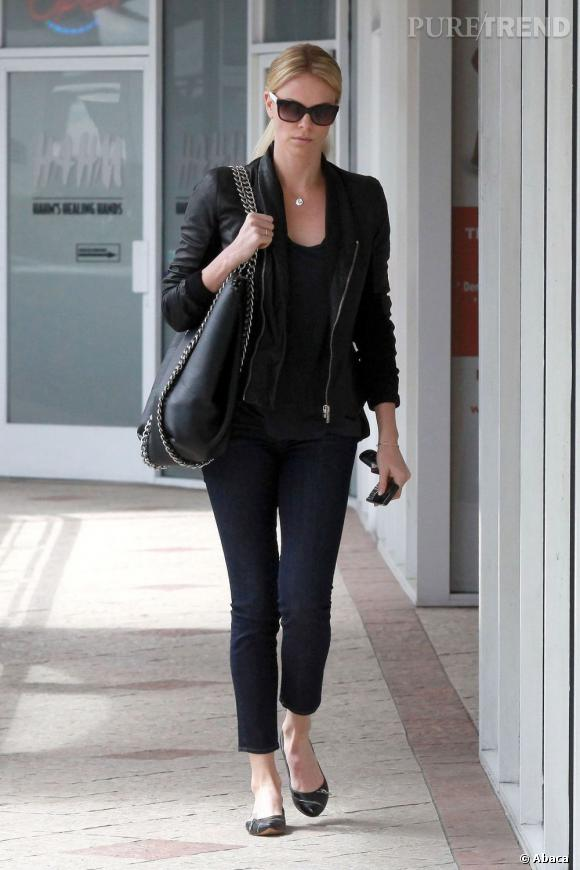 Charlize Theron à West Hollywood.