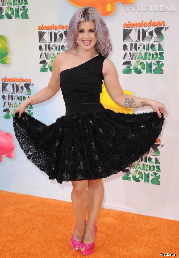 Kelly Osbourne à la soirée des Kids' Choice Awards 2012 à Los Angeles.