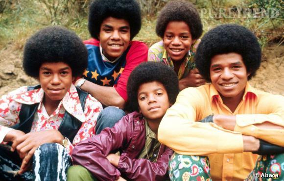 Les Jackson 5 période champignon, afro et pattes d'eph pour tout le monde.