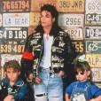 Michael Jackson dans les 90's.