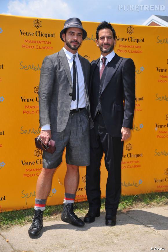 En 2009 :  Marc Jacobs et Lorenzo Martone, tout est parfaitement étudié.