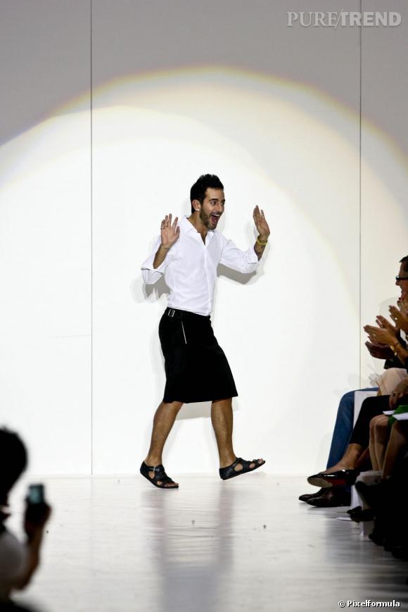 En 2009 :  Marc Jacobs se lache toujours plus !