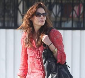 Michelle Monaghan opte pour un look tendance pastel à Los Angeles.