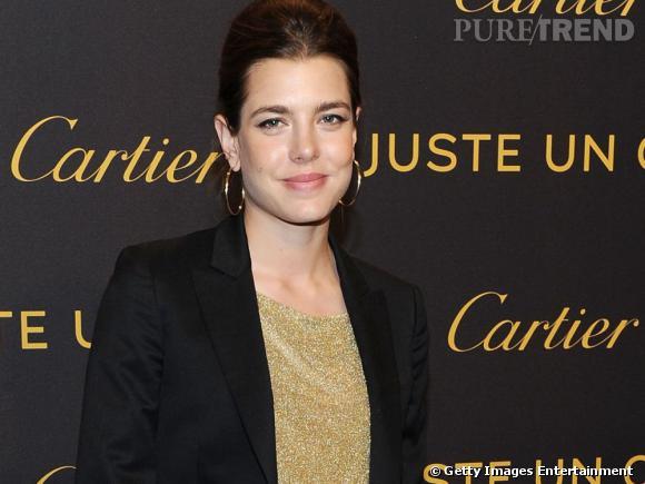 Charlotte Casiraghi à la soirée Cartier organisée à New York.