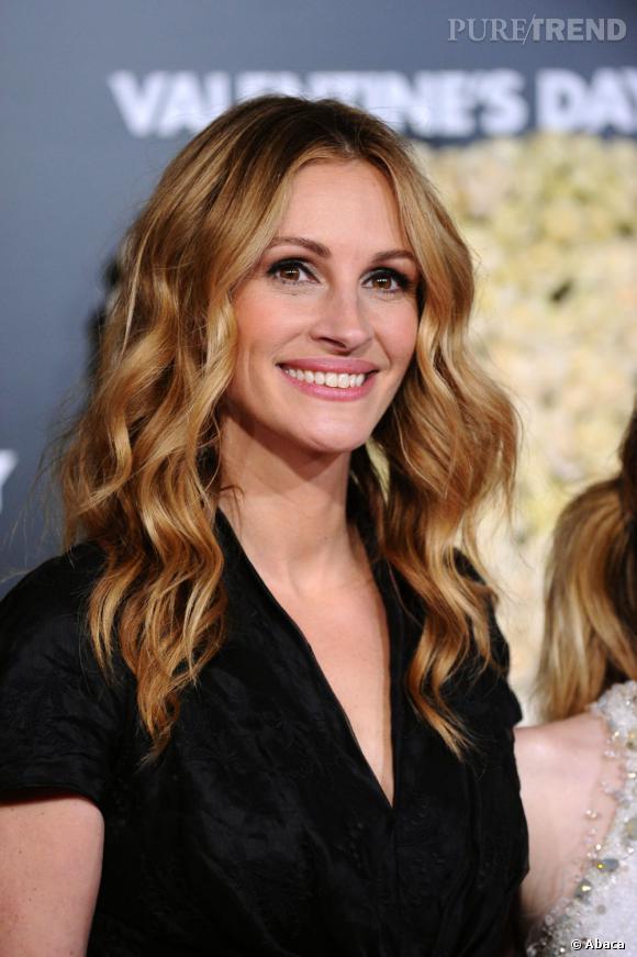 julia roberts eclaircit sa couleur de reflets blond pour un rsultat trs lumineux - Coloration Reflet Blond