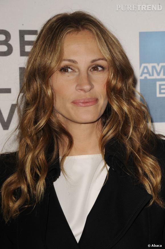C'est les cheveux détachés que Julia Roberts est la plus belle.