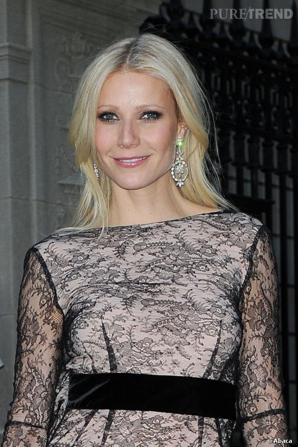 L'actrice Gwyneth Paltrow est souvent considérée comme l'une des plus belles blondes platines d'Hollywood.