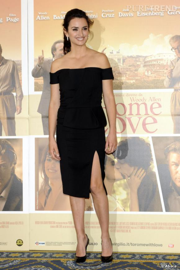 "Penelope Cruz au photocall de ""To Rome With Love"" de Woody Allen à Rome."