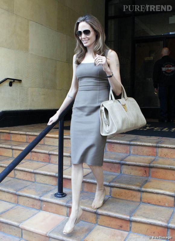 Angelina Jolie à Los Angeles.